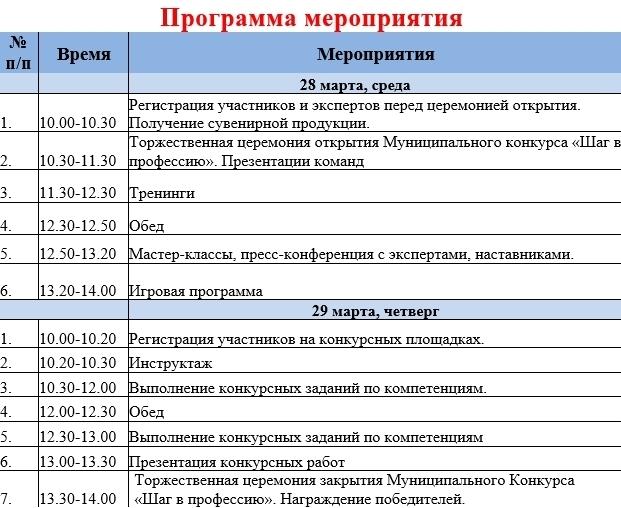 программа 1